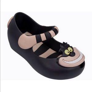 Mini Melissa Cheshire Cat Shoes Size 10 Like New